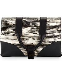 Jason Wu - Hanne Leather Clutch Bag - Lyst