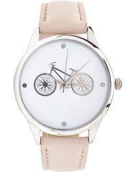 Forever 21 - Bike Analog Watch - Lyst