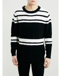 Topman Selected Homme Striped Jumper - Lyst