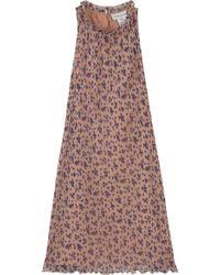 Paul & Joe Esmee Pleated Floral Dress - Lyst