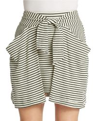Free People All Tied Up Skirt - Lyst