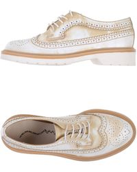 Penelope Lace-Up Shoes - Lyst