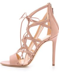 Alejandro Ingelmo - Boomerang Lace Up Sandals - Lyst