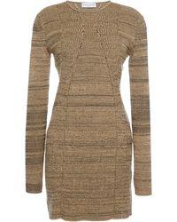 Sonia Rykiel Cotton Ribs Dress - Lyst