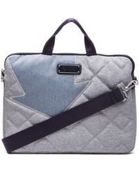 Marc By Marc Jacobs - Crosby Quilt Denim 13' Computer Bag - Lyst