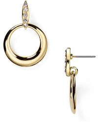 T Tahari - Door Knocker Earrings - Lyst