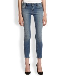 The Kooples Skinny Ankle Jeans - Lyst