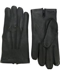 Canali - Classic Leather Gloves - Lyst