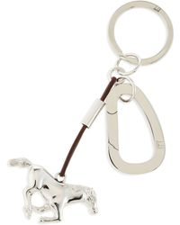 Dunhill - Ascot Horse Key Ring - Lyst