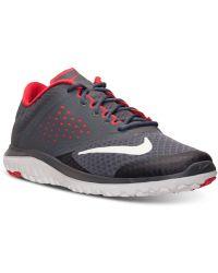 Nike Men's Fs Lite Run 2 Running Sneakers From Finish Line - Red