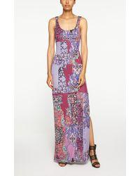 Nicole Miller Magic Carpet Maxi Dress floral - Lyst