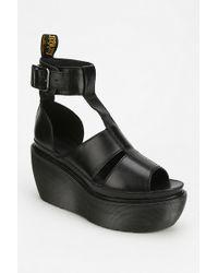 Dr. Martens Bessie Platform Wedge Sandal - Black