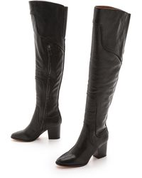 Rebecca Minkoff Blessing Over The Knee Boots Black - Lyst