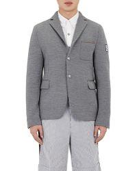 Moncler Gamme Bleu - Men's Neoprene Sportcoat - Lyst