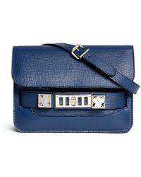 Proenza Schouler 'Ps11' Mini Saffiano Leather Satchel - Lyst