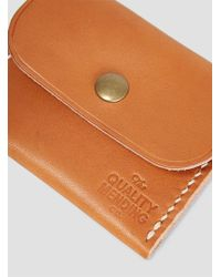The Quality Mending Co. - Wallet Tan - Lyst