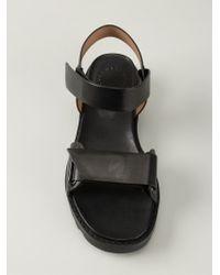 Marc By Marc Jacobs Velcro Sandals - Black