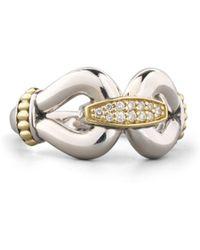 Lagos Diamond Derby Ring - Lyst