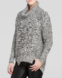 Adrianna Papell - Marled Cowl Neck Jumper - Lyst