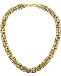 Fred Leighton - Vintage Bulgari Estate 1980S 18-Karat Gold Necklace - Lyst