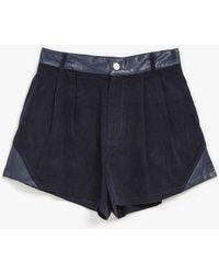 MINKPINK Struck A Chord Shorts blue - Lyst