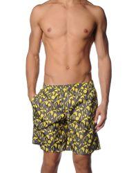 Jil Sander Beach Shorts And Pants - Yellow
