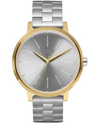 Nixon 'The Kensington' Watch silver - Lyst