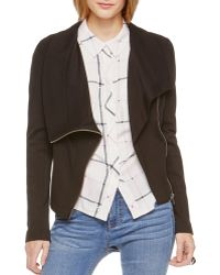 Two By Vince Camuto - Ponte Moto Jacket - Lyst