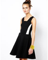 French connection Lucy Skater Dress - Lyst