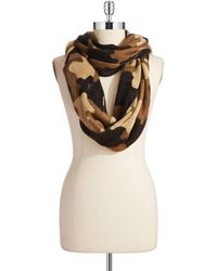Michael by Michael Kors Camo Infinity Scarf - Lyst