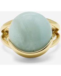 Cole Haan | Semi-precious Round Stone Ring | Lyst
