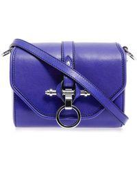 Givenchy Obsedia Leather Crossbody Bag - Blue