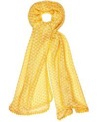 Missoni Bead Embellished Knit Shawl - Lyst
