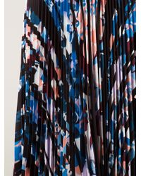 Elizabeth and James Caident Pleated Printed Skirt - Multicolour
