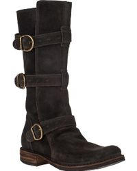 Fiorentini + Baker Eternity 7040 Boot Lavagna Suede brown - Lyst