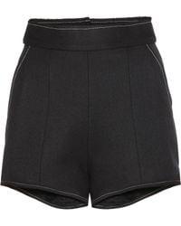Ellery - Wool-blend Shorts - Lyst