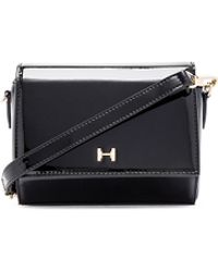 Halston Heritage | Geo Mini Patent-Leather Bag | Lyst