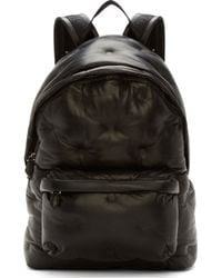 Givenchy Black Quilted Leather Backpack - Lyst