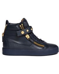Giuseppe Zanotti | 'may London' Leather High Top Sneakers | Lyst