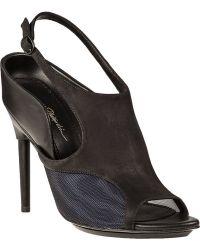 3.1 Phillip Lim Aria Slingback Sandal Black Leather - Lyst