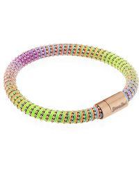 Carolina Bucci - Neon Twister Bracelet Rose Gold - Lyst