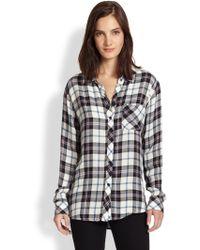 Rails Hunter Plaid Button-Down Shirt - Lyst