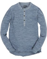 Grayers - Double Cloth Henley T Shirt - Lyst