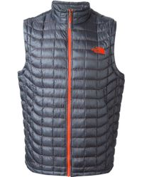The North Face Quilted Gilet - Lyst