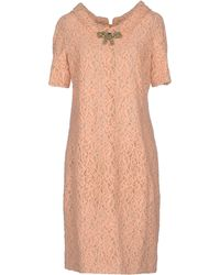 DSquared² Pink Short Dress - Lyst