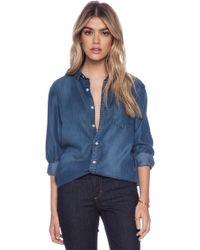 Joe's Jeans Single Pocket Shirt - Lyst