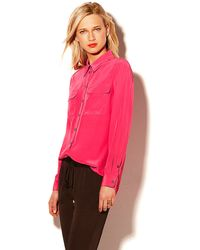 Vince Camuto Utility Shirt - Lyst