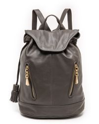 See By Chloé Gray Cherry Backpack  - Lyst