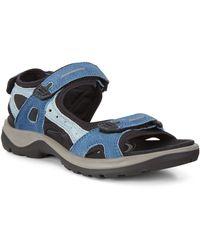 Vilebrequin Ecco Anniversary Sandal Size - Blue