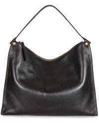 Vilebrequin Ecco Sculptured Shoulder Bag - Black